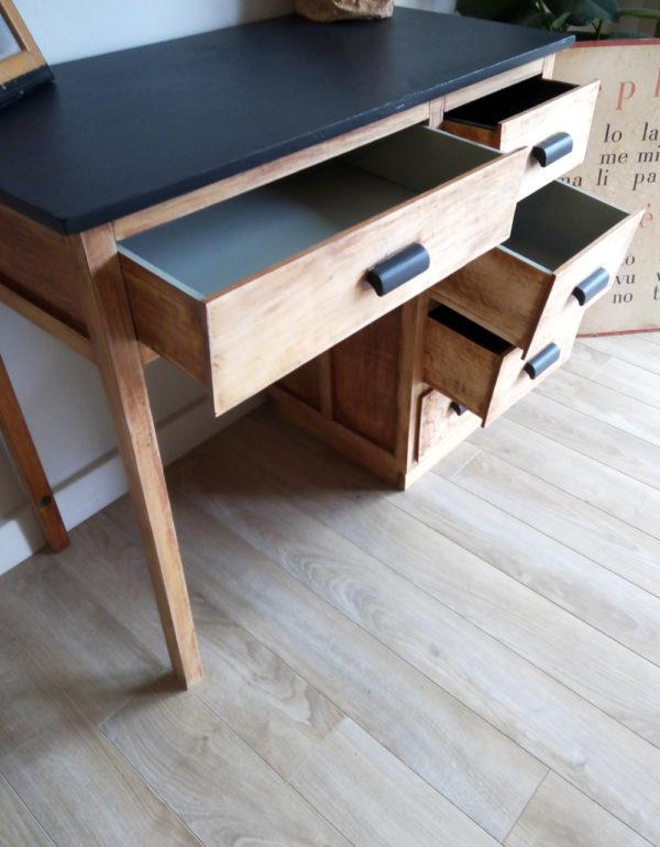 bureau-ancien-vintage-console-revisite