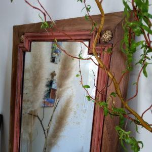 porte miroir biseauté vintage Madame blabla
