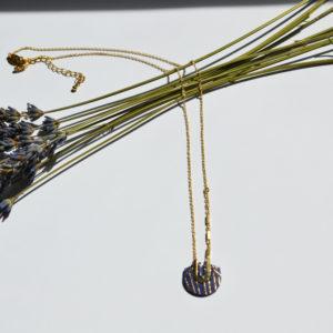 Collier Vladimir Bleu Peau de Fleur