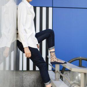 Atelier-St-Eustache-Chaussettes-Transparentes-Femme-5thAvenue-Blue-Madame Blabla 3