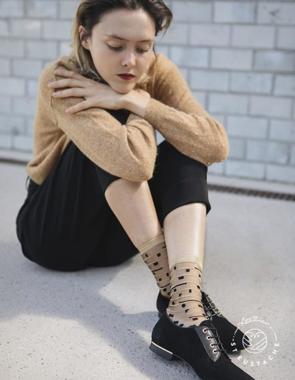 Atelier-St-Eustache-Chaussettes-Transparentes-Femme-5thAvenue-Gold-Madame Blabla-3