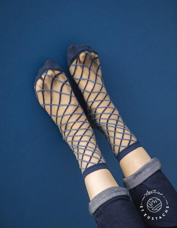 Atelier-St-Eustache-Chaussettes-Transparentes-Femme-BrooklynBridge-Blue-Madame Blabla-1