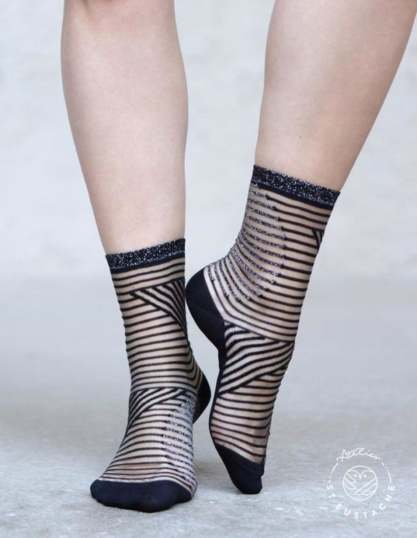 Atelier-St-Eustache-Chaussettes-Transparentes-Femme-Chrysler-Silver-Madame Blabla-2