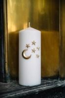 bijou de bougie lune et étoile Madame blabla
