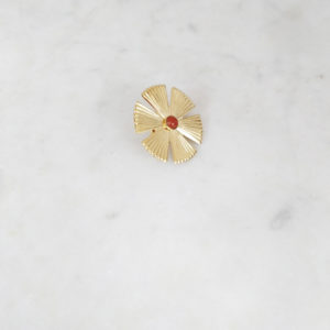 Pin's Sol Jaspe Rouge marie Duvert atelier