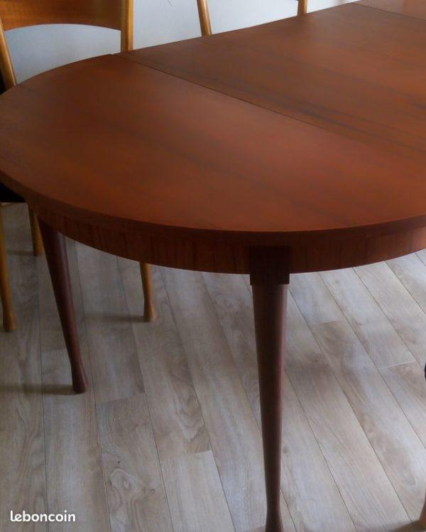 Table Scandinave Vintage Danoise rallonge