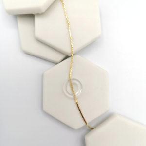 Le bracelet Bo's transparent Helmut Paris