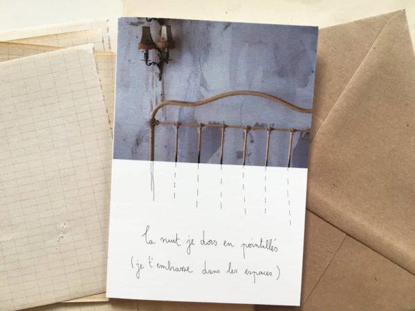 Carte Postale Papillonnage à Offrir Papeterie Nouveauté à Accrocher