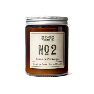 Bougie No 2 Matin de Printemps Les Choses Simples Senteur Ambiance Provence
