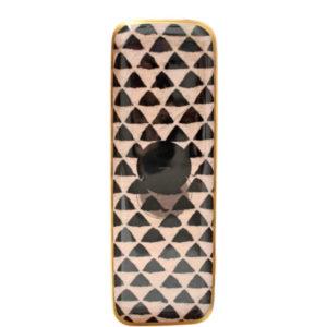 Plateau duo-triangle Aluminium